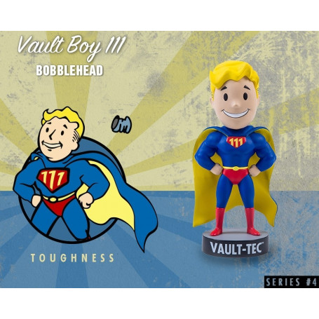Gaming Head Fallout 4 Serie 4 Bobble Heads Vault Boy 111 - Toughness