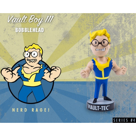 Gaming Head Fallout 4 Serie 4 Bobble Heads Vault Boy 111 - Nerd Rage!