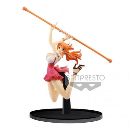 Banpresto One Piece - BWFC - Nami - Normal Color Ver - 13 cm