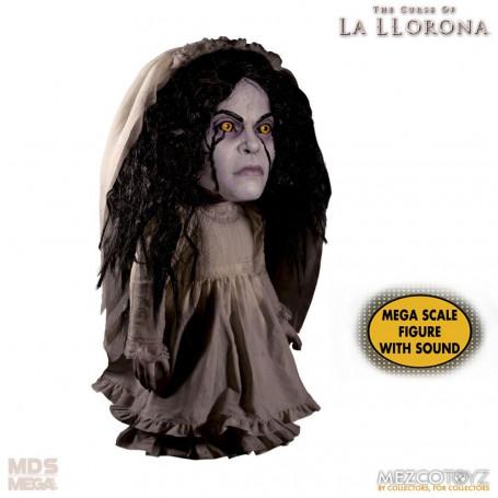 Mezco Figurine Mega Scale - La Malediction de la Dame Blanche - La Llorona - 38cm