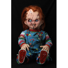 Neca - Child's Play - Chucky Doll - Bride of Chucky - taille reelle - lifesize - 1:1 - 76cm