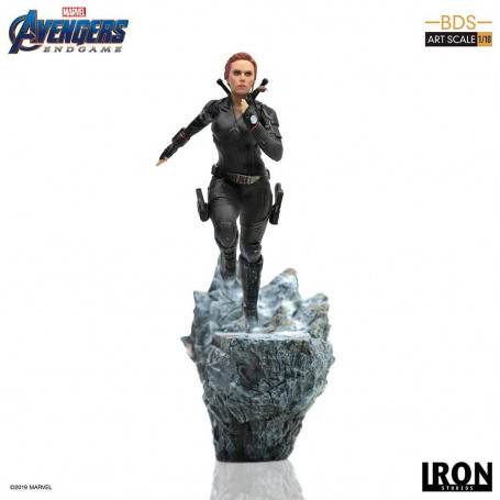 Iron Studios Marvel - Avengers Endgame - Black Widow - BDS Art Scale 1/10 - 21cm
