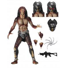 """Neca """"The Predator"""" - Ultimate Fugitive Predator - Lab Escape - 7 inch Action Figure"""