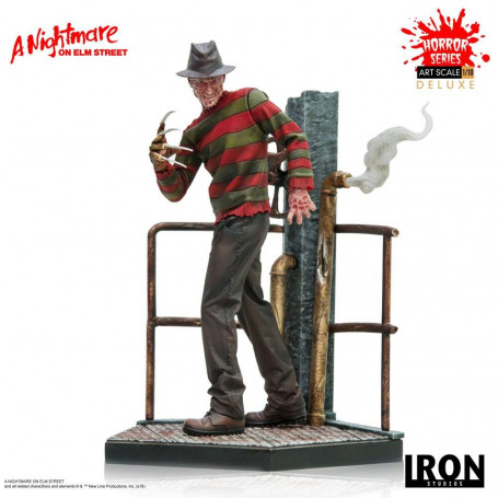 Iron Studio Statue A Nightmare On Elm Street - Freddy Krueger - Deluxe Art Scale - 1/10 - 19cm