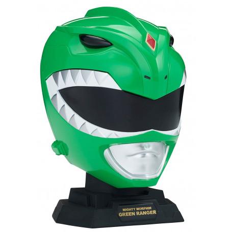Bandai Mighty Morphin Power Rangers Legacy - Replique Casque Ranger Vert 1/4 - helmet
