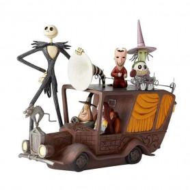 Enesco Disney Traditions - L'Etrange Noel de Mr. Jack - Jack en voiture
