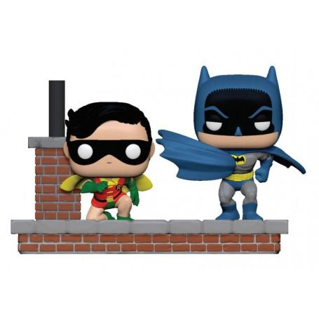 Funko POP - DC Comic - Comics Moment - Batman 80th - Batman & Robin (1964) - 9cm