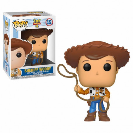 Funko POP! 522 - Toy Story 4 - Sheriff Woody - 9cm