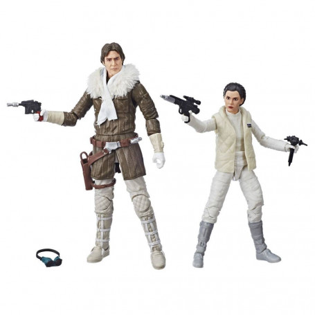Star Wars Episode V Black Series - Leia & Han (Hoth) Convention Exclusive 2018 - 15 cm