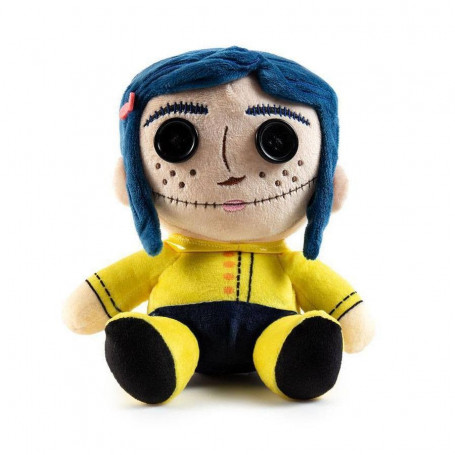 Kidrobot - Coraline peluche - Phunny Button Eyes - 18 cm