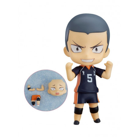 Haikyu!! Nendoroid Ryunosuke Tanaka Special Version - 10 cm