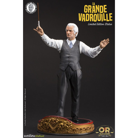 Infinite Statue Louis de Funès Old And Rare