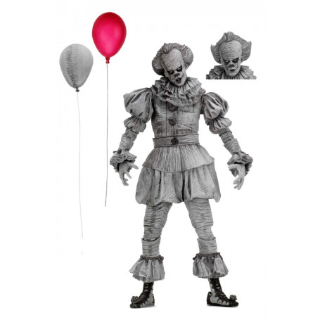 "ELLE 7/"" Scale Action Figure Ultimate NECA bien House Pennywise"