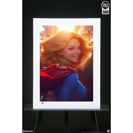 Sideshow - DC Comics Art Print - Supergirl16 by Stanley Lau 61 x 46 cm - non encadrée