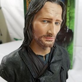Sideshow Weta - LOTR - Buste Aragorn - Strider - Grand Pas 1/4 - Le Seigneur des Anneaux