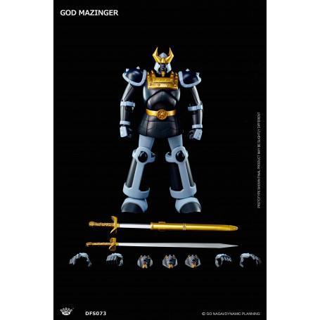 King Arts Diecast God Mazinger 25cm