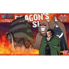 Bandai One Piece Model Kit - DRAGON'S SHIP