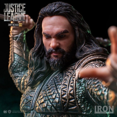 Iron Studios DC COMICS - Justice League - Aquaman - BDS Art Scale 1/10 - 22cm