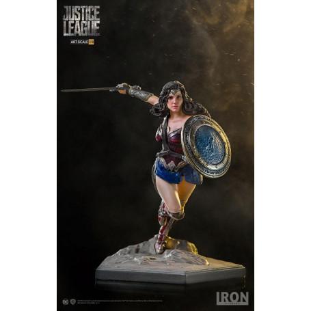 Iron Studios DC COMICS - Justice League - Wonder Woman - BDS Art Scale 1/10 - 18cm