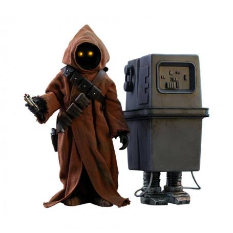 Hot Toys Movie Masterpiece Star Wars Episode IV - pack 2 figurines 1/6 Jawa & EG-6 Power Droid - 18-21 cm