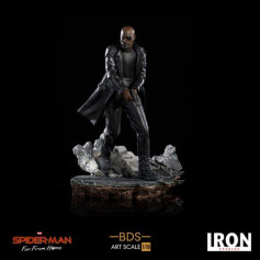 Iron Studios Marvel - Spider-Man Far From Home - Nick Fury - BDS Art Scale 1/10 - 25cm