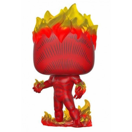 Funko POP! Marvel 80th - Fantastic 4 - Human Torch - la Torche humaine (First Appearance) - 9 cm