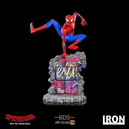 Iron Studios Marvel - Spider-Man Into the Spider-verse - Spiderman Peter Parker - BDS Art Scale 1/10 - 25cm