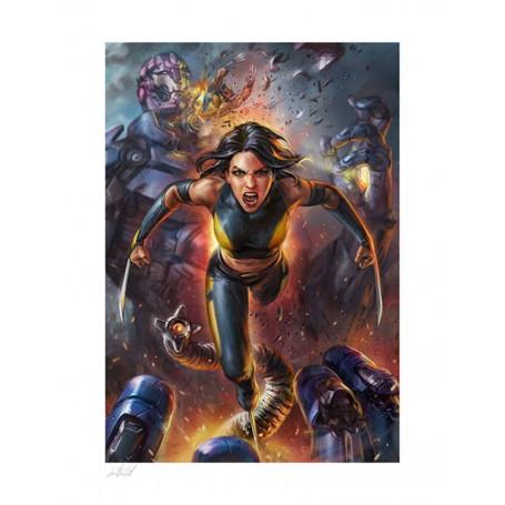 Sideshow - Marvel Art Print - X-23 by Ian MacDonald 61 x 46 cm - non encadrée
