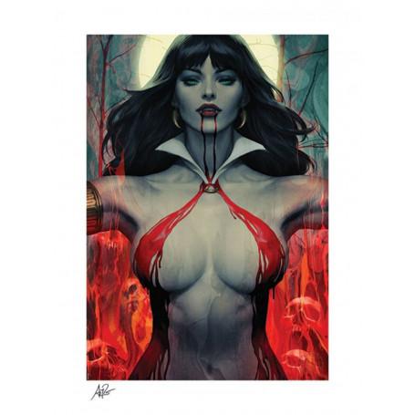 Sideshow - Vampirella Art Print - Vampirella 2 by Stanley Lau 61 x 46 cm - non encadrée