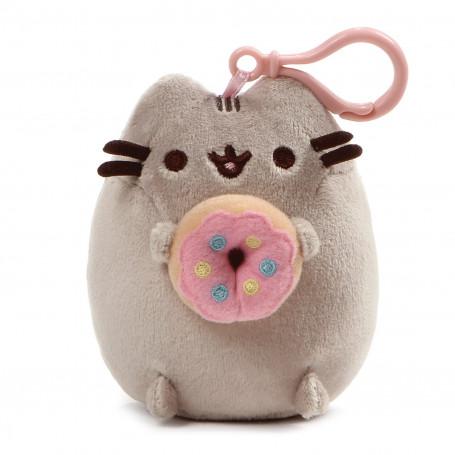 Porte-cles PUSHEEN CAT - Donut - 12cm