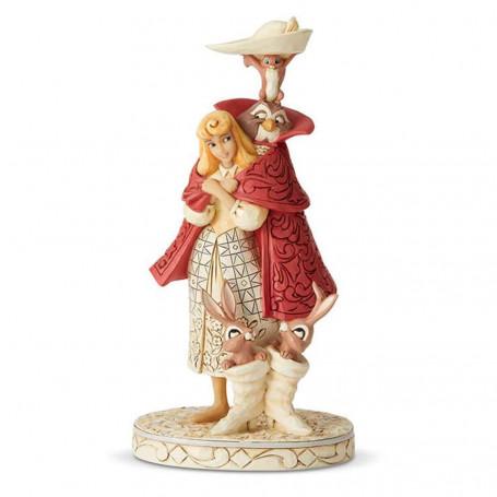Enesco Disney Traditions - La Belle au Bois Dormant Aurora - Briar Rose - Playful Pantomime -