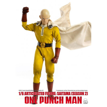 Three 0 - One Punch Man Saison 2 - Figurine 1/6 - Saitama - 30cm
