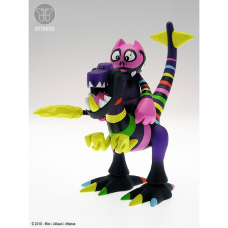 Attakus - Dino & Horus Rainbow Warrior par MIST et AILLAUD