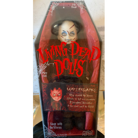 Mezco Living Dead Doll - OCCASION - Wolfgang - Serie 10