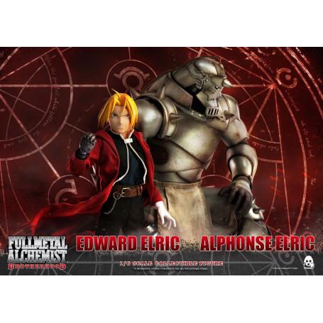 ThreeZero - Full Metal Alchemist : Brotherhood - Edward et Alphonse Elric - 1/6 - 25 et 37cm