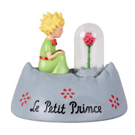 Enesco - Le Petit Prince et la Rose sur la planète - 11cm