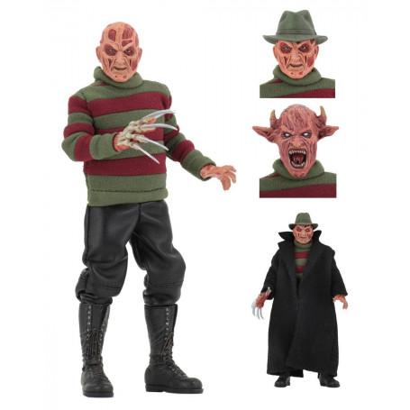 NECA Nightmare on Elm Street New Nightmare Retro Cloth Freddy - 20cm