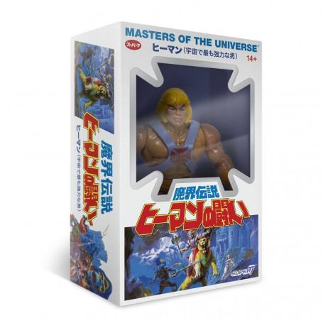 Masters of the Universe - Les Maîtres de l'Univers - Vintage Collection figurine Musclor - He-man BOITE JAPONAISE - 14 cm
