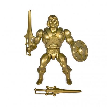Masters of the Universe - Les Maîtres de l'Univers - Vintage Collection figurine GOLD He-Man - Musclor 14 cm
