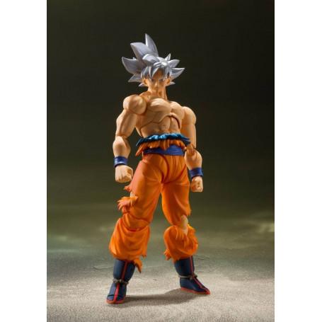 Bandai Tamashii - Dragon Ball Super - SHF SHFiguarts - Son Goku Ultra Instinct - Migatte No Gokui - 16cm
