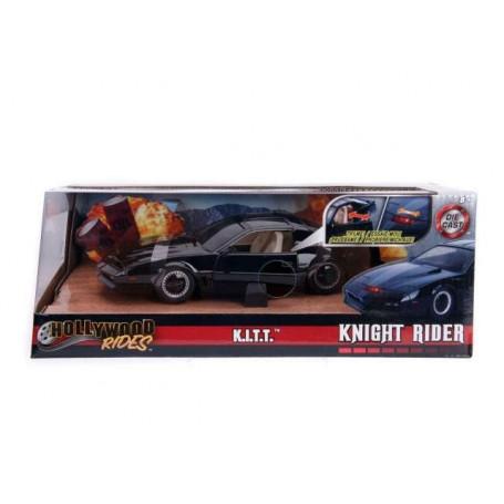 Jada Toys - 1982 Pontiac Firebird - KITT - Knight Rider - K2000 - Version led rouge calandre - 1/24