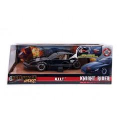 Jada Toys - 1982 Pontiac Firebird - KITT - Knight Rider - K2000 - Version leds rouges calandre - 1/24