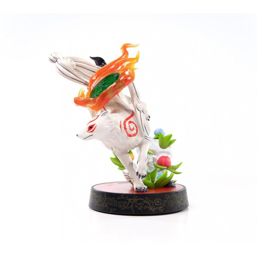 neuf figurine jeux video okami amaterasu First 4 Figures 22cm