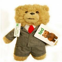 Peluche TED parlante en costume - 20cm