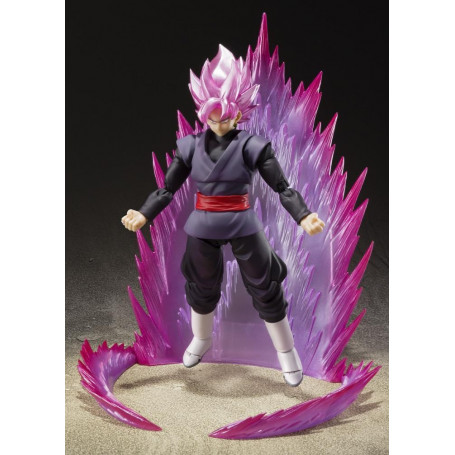 Bandai Tamashii - SDCC Event Exclusive Color Edition 2019 - Dragon Ball Super - SHF SHFiguarts - Black Goku - 16cm