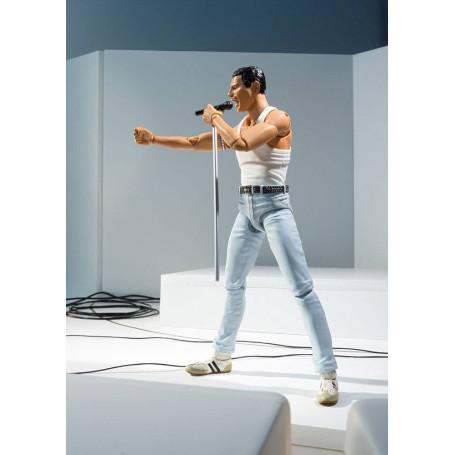 Bandai - Queen - Freddie Mercury Live Aid Ver. - SH FIGUARTS - SHF - 15cm