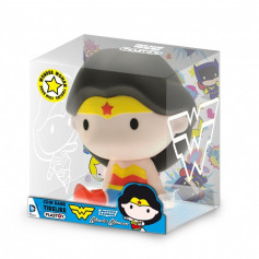 Plastoy Tirelire - Justice League Chibi PVC - Wonder Woman - 15 cm