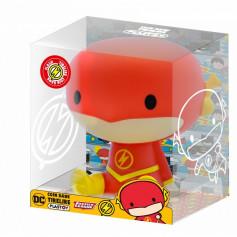 Plastoy Tirelire - Justice League Chibi PVC - The Flash - 15 cm