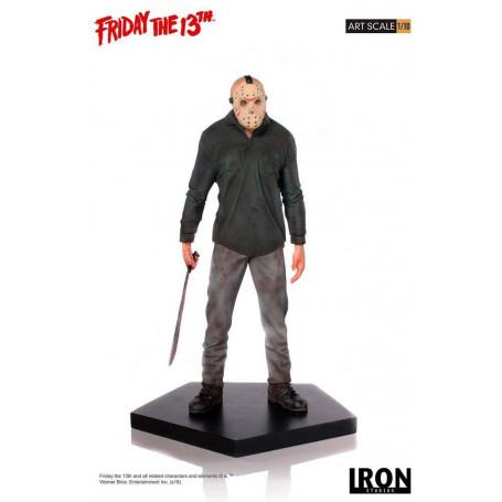 Iron Studio Statue Vendredi 13 Friday the 13th - Jason - Art Scale - 1/10