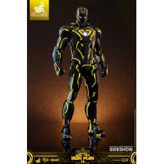 Hot toys 1/6 Iron Man Neon Tech 2.0 Exclusive Mark VI - MMS Diecast - 30cm
